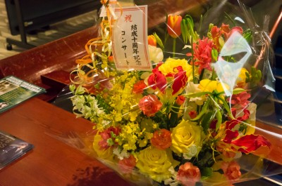 お花がおいてありました