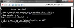 Onyx コード化された操作(CPU ソケット数とコア数の変更)